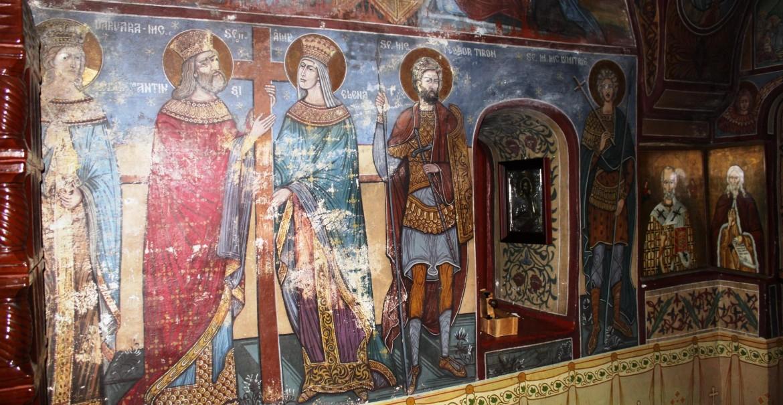 Frescă - Sfânta Mănăstire Pahomie